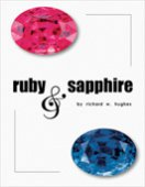 SOLD:Ruby and Sapphire by Richard W. Hughes (1997, Hardcover), signed by Author